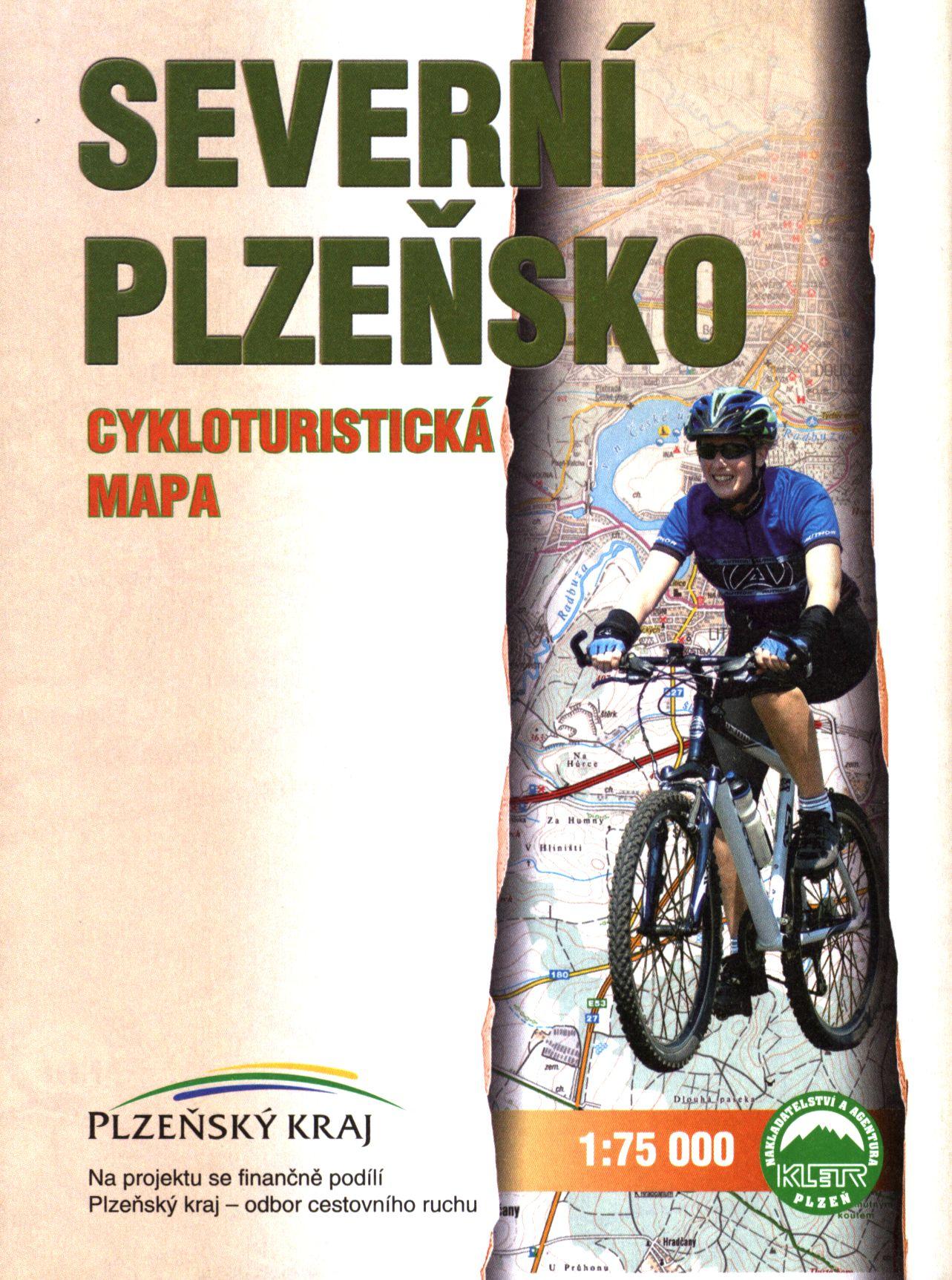 Severní Plzeňsko : cykloturistická mapa 1:75 000